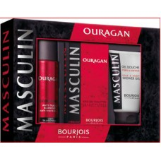 Комплект за мъже Bourjois Masculin Ouragan EDT 100 ml.+ део 200 мл. + душ гел 150 мл.