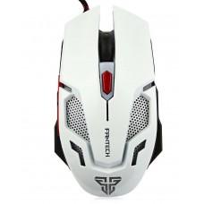 Геймърска мишка FanTech, Оптична V2,Бял - 981