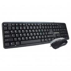Гейминг комплект мишка и клавиатура, ZornWee GuildWars, Черен  - 6054