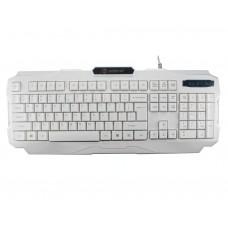 Геймърска клавиатура ZornWee, V01, Бял - 6051