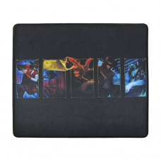 Геймърска подложка за мишка, No brand, Q7, 350 x 300 x 4mm, Черен - 17508