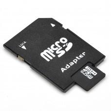 Карта памет No brand microSDHC 4GB, Class 4 + Адаптер - 62021