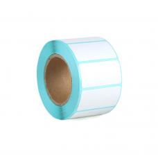 Термодиректни етикети, No brand, 40x20mm, 800 бр, Бял - 71202