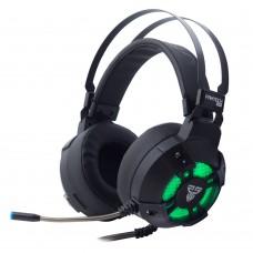 Геймърски слушалки, FanTech Captain HG11, 7.1, С микрофон, Черен - 20369