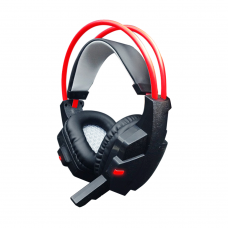 Геймърски слушалки, FanTech Clink HG4, С микрофон, Черен - 20328