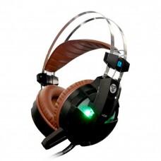 Геймърски слушалки, FanTech Phantom HG8, С микрофон, Черен - 20332