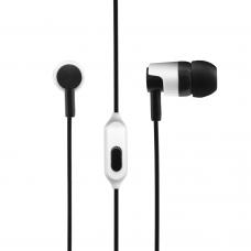 Слушалки No brand IN-122, За мобилни устройства, С микрофон, Различни цветове - 20395