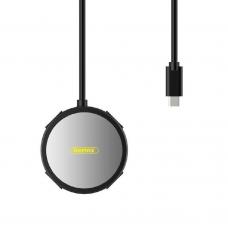 USB Hub Remax RU-U20, Type-C, 4 Порта, Черен - 14001