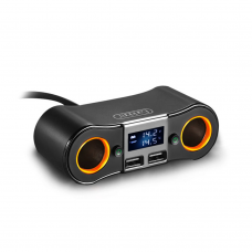 FM Трансмитер Earldom ET-M28, Bluetooth, USB, 3.4A, Черен – 17370