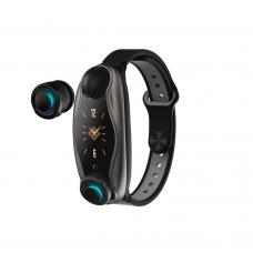 Смарт часовник No brand T89, 26mm, Bluetooth, Слушалки, IP67, Различни цветове - 73030