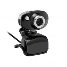 Уеб камера No brand BC2013, Микрофон, 480p, Черен - 3036